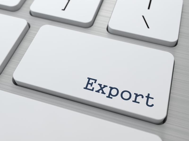 vad är export